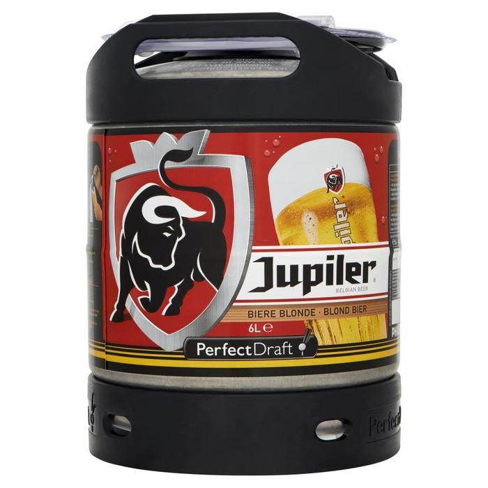 Jupiler Belgische Pils PerfectDraft Vat 6 Liter (6L)
