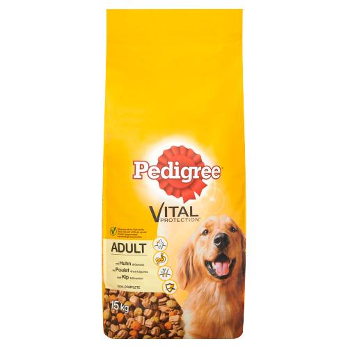 Pedigree Vital Protection Adult met Kip en Groenten 15 kg (15kg)