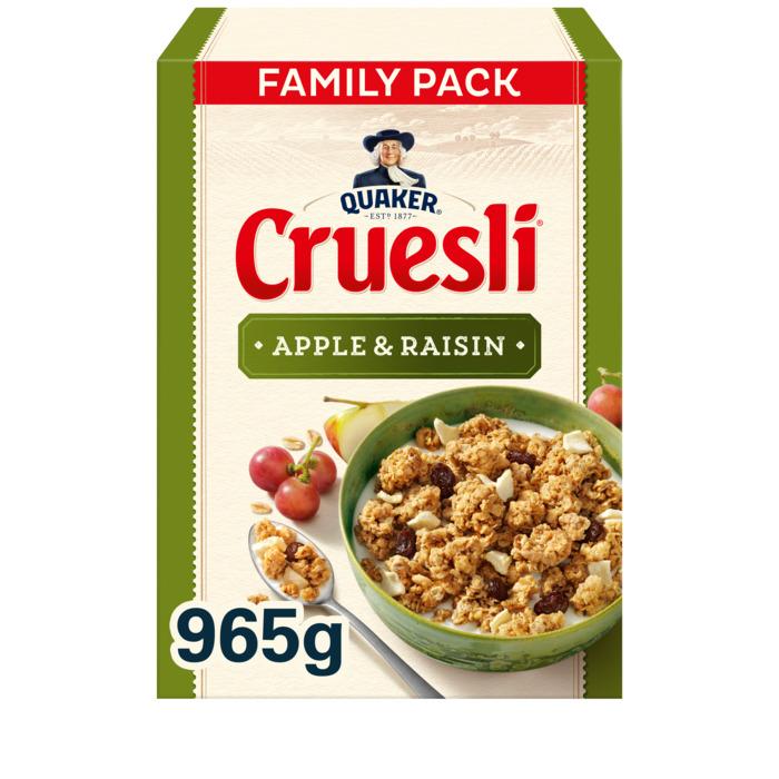 Cruesli appel-rozijn (Stuk, 965g)