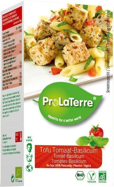 Tofu tomaat-basilicum (doos, 250g)