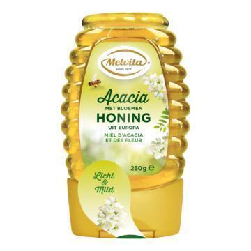 Melvita Acacia- met Bloemenhoning 250 g (250g)