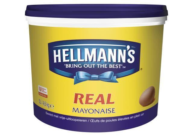 Hellmanns Mayonaise Real 5L 1x (5L)