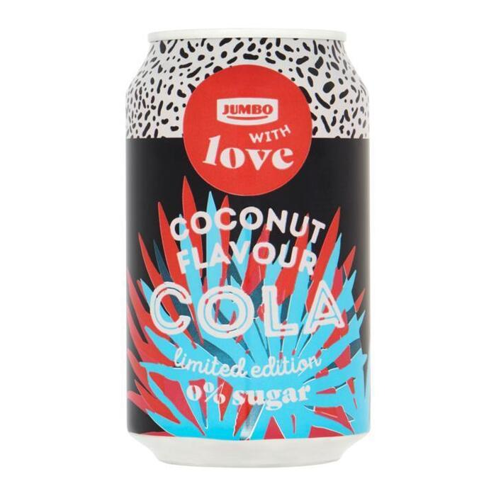 Jumbo Cola Coconut Flavour 0% Sugar Limited Edition 330ml (33cl)