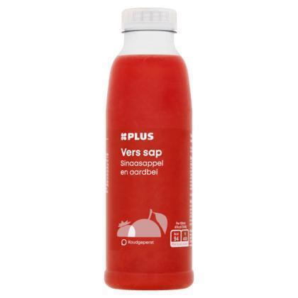 Vers sap sinaasappel-aardbei (petfles, 0.5L)