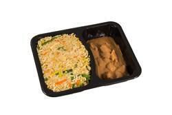 Kipsate in satesaus nasi goreng (500g)