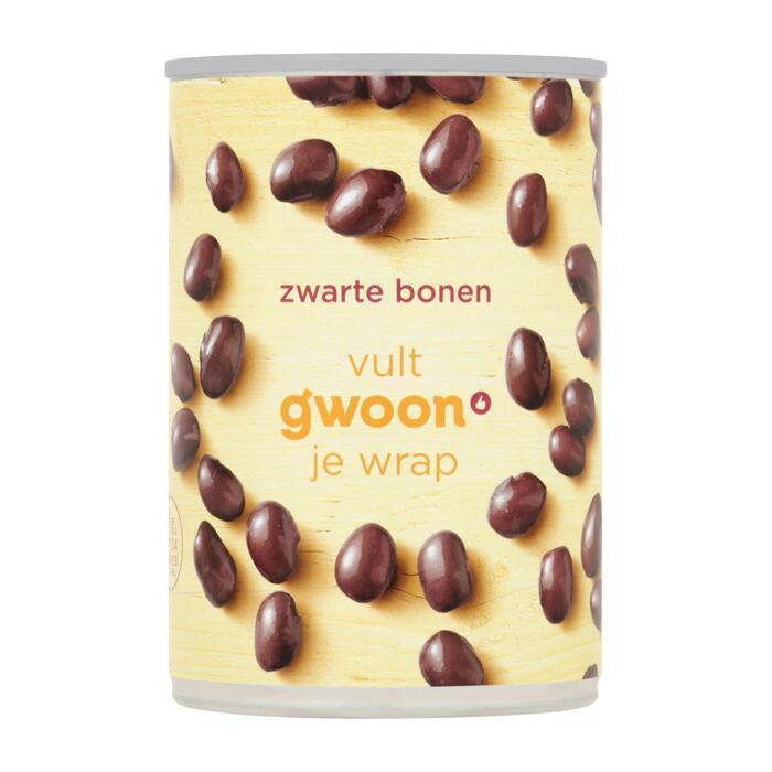 g'woon Zwarte bonen (400g)
