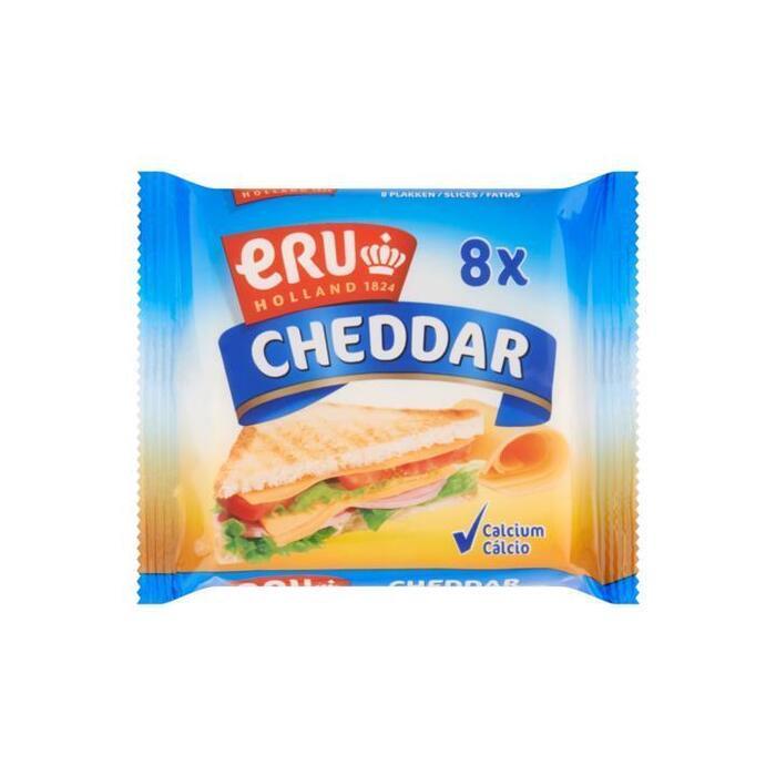 Cheddar slices naturel (Stuk, 150g)