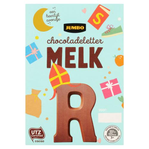 Jumbo Melkchocolade Letter R 65 g (65g)