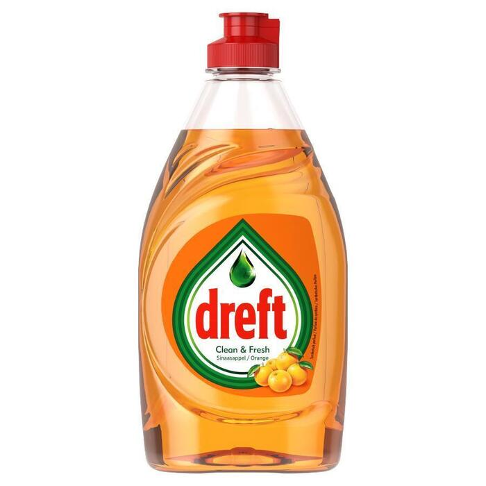 Dreft Clean & Fresh Afwasmiddel Sinaasappel 383 ml (38.3cl)