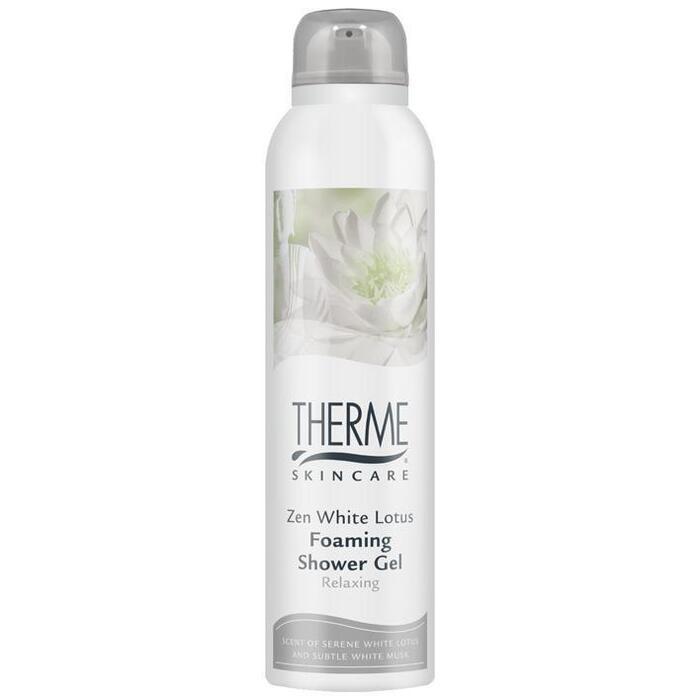 Therme Zen white lotus foaming shower gelmousse (200ml)