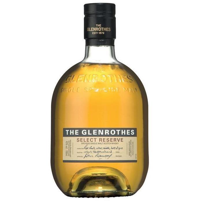 Glenrothes Select reserve single malt Scotch whisky (rol, 70 × 0.7L)