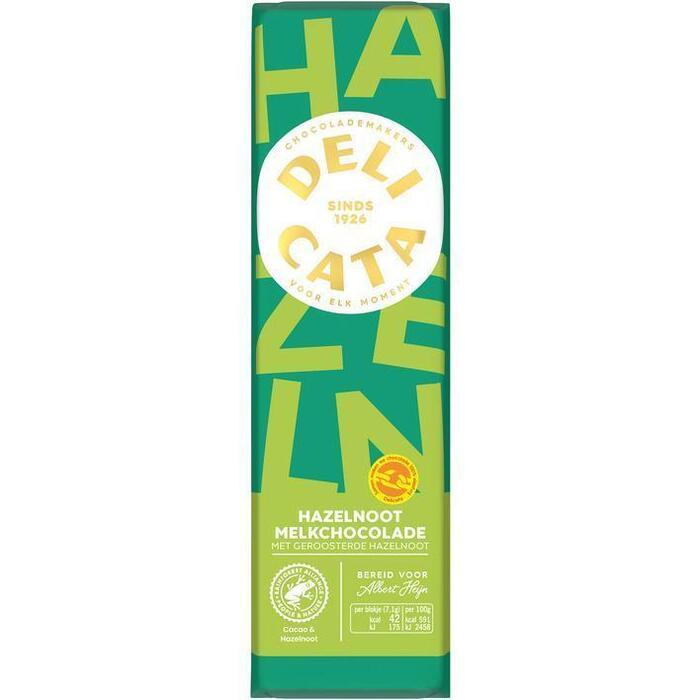 Delicata Reep melk-hazelnoot (100g)