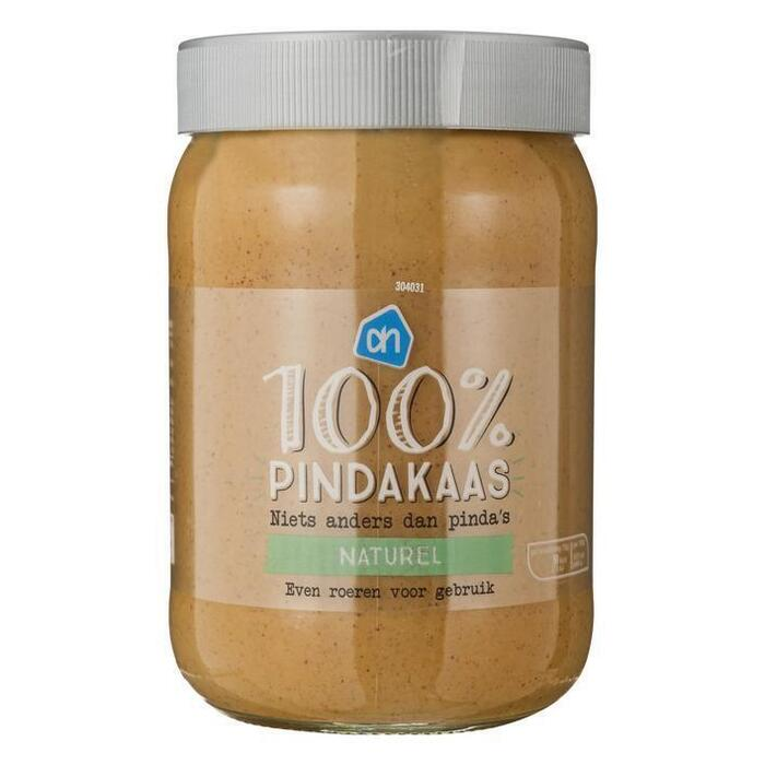 AH 100% pindakaas naturel (600g)