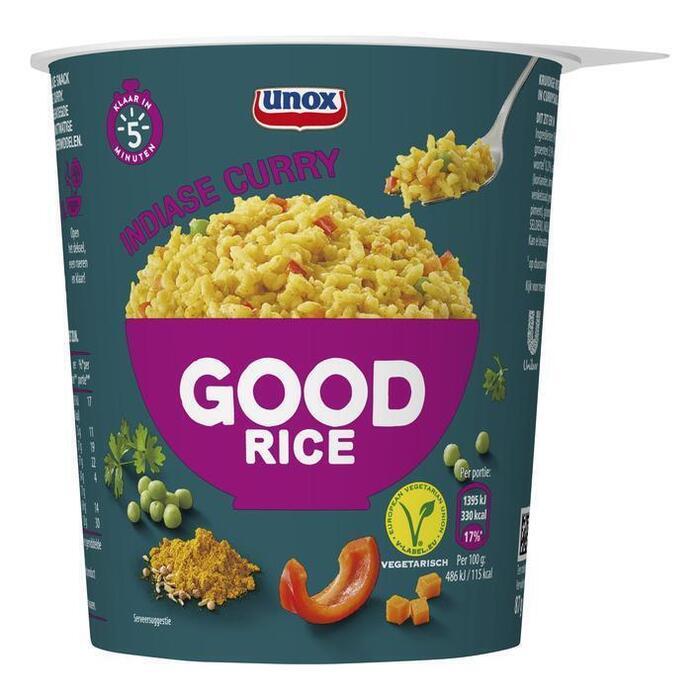 Unox Good rice rijst en Indiase curry (30cl)