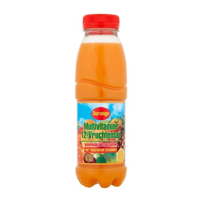 Surango Multivitaminesap flesje 6 x 330 ml (33cl)