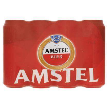 AMSTEL PILSENER 50 CL 12 BLIK (rol, 600 × 0.5L)