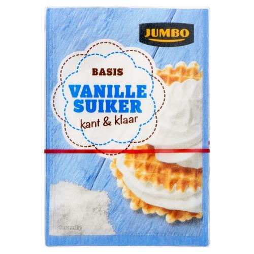 Jumbo Basis Vanille Suiker Kant & Klaar 10 x 8g (8g)