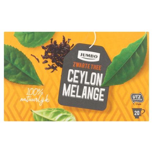 Jumbo Zwarte Thee Ceylon Melange 20 Stuks 40 g (40g)