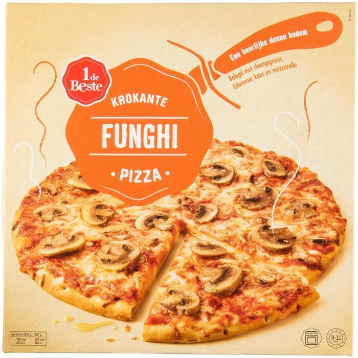 Krokante pizza funghi (365g)