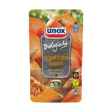 Unox Soep Biologische Pompensoep 570 ml (0.57L)