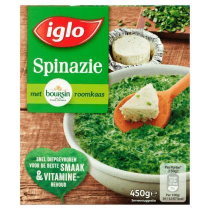 Fieldfresh spinazie boursin (Stuk, 450g)