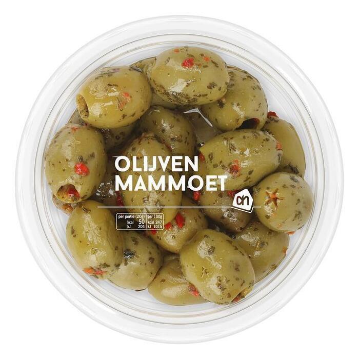 AH Mammoet olijven (150g)