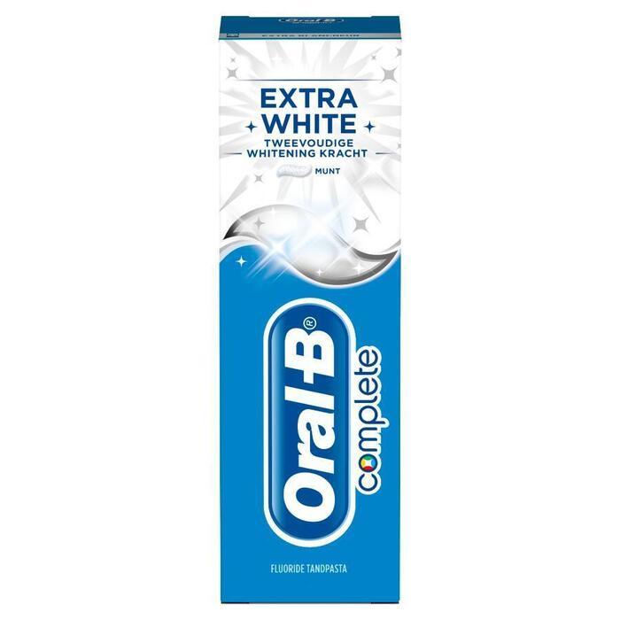 Oral-B Complete Extra White Tandpasta 75ml (75ml)