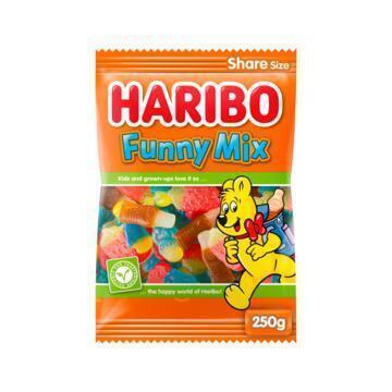 Haribo Funny Mix 250 GRM Zak (250g)