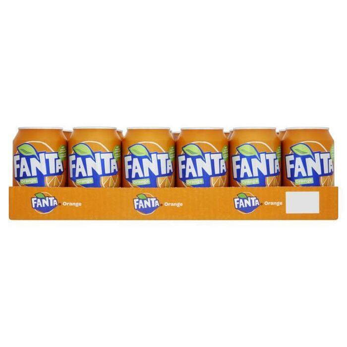 FANTA ORANGE TRAY BL (baal, 24 × 33cl)