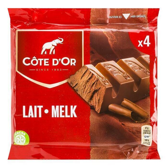 Cöte d'Or Reep melk (3 × 47g)