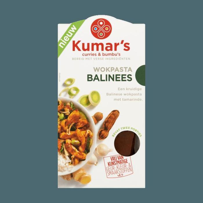 Kumar's Curries & Bumbu's Wokpasta Balinees 2 x 35ml (2 × 35ml)