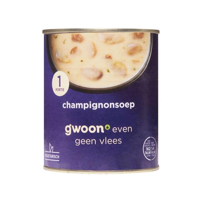 g'woon Champignonsoep (30cl)