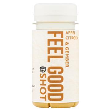 Fruity Juice Feel Good Shot Appel, Citroen & Gember 100 ml (100ml)