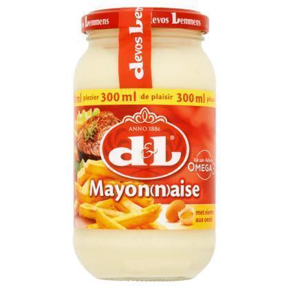 D&L Mayonaise Ei 300 MLT Pot (30cl)
