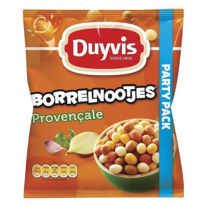Duyvis Borrelnootjes Pinda's Provençale 400g (Stuk, 400g)
