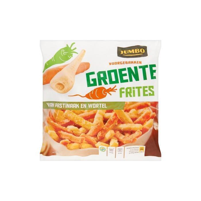 Jumbo Voorgebakken Groente Frites - Pastinaak en Wortel 600 g (600g)