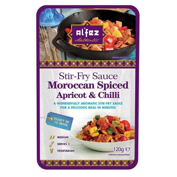 Al'Fez Stir Fry Sauce Moroccan Spiced Apricot & Chilli (120g)