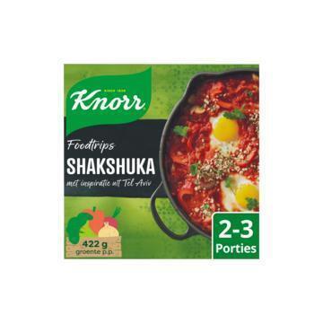 Knorr Wereldgerechten food trips shakshuka (256g)