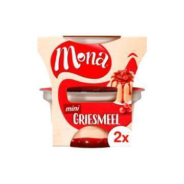 Pudding Griesmeel met Rode Bessensaus Duoverpakking (Stuk, 2 × 135ml)