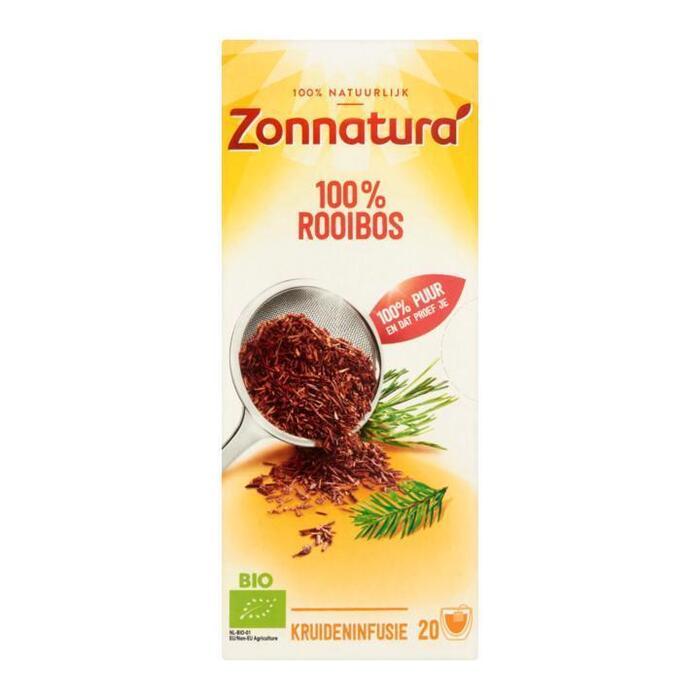 Zonnatura Rooibos thee (Stuk, 20 × 30g)
