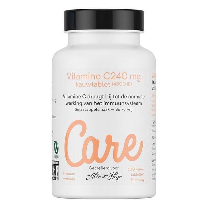 Care Vitamine C kauwtabletten sinaasappel
