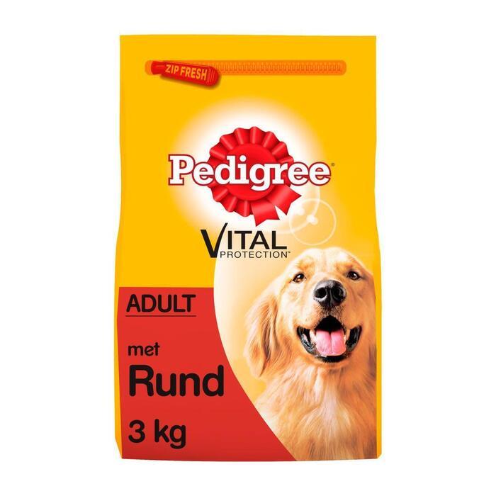 Pedigree Vital protection adult rund-groenten (3kg)