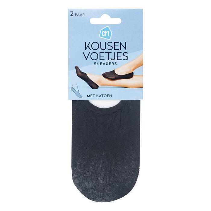 AH Kousenvoet sneakers katoen zwart 39-42