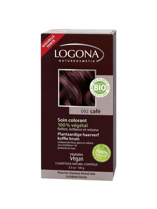 Haarkleuring 092 Koffiebruin Logona 100g (100g)