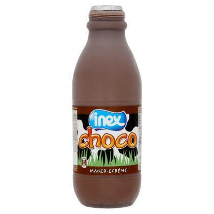 Magere chocomelk (plastic fles, 1L)