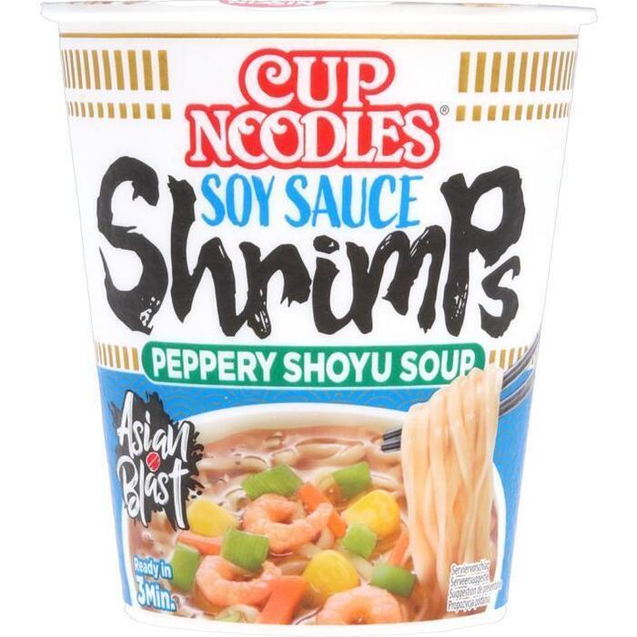 Nissin Cup Noodles Garnalen 63g (63g)