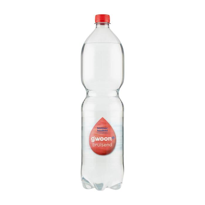 g'woon Bronwater koolzuurhoudend (1.5L)