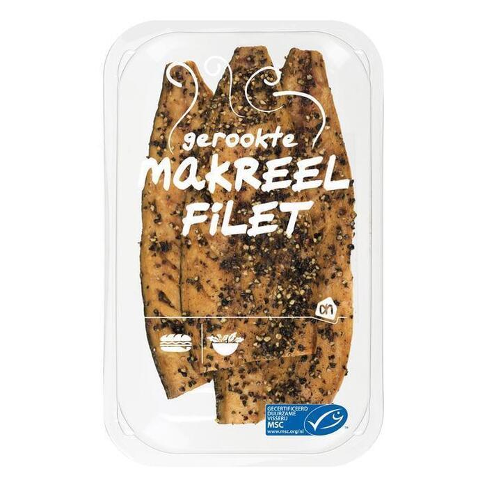 Gerookte makreelfilet peper (bak, 240g)