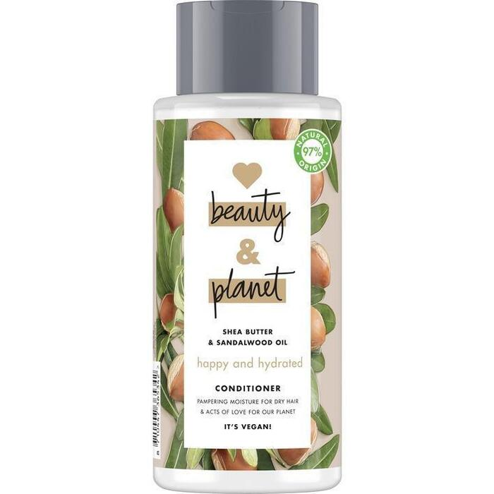 Love Beauty Planet Shea butter & sandalwood conditioner (40cl)