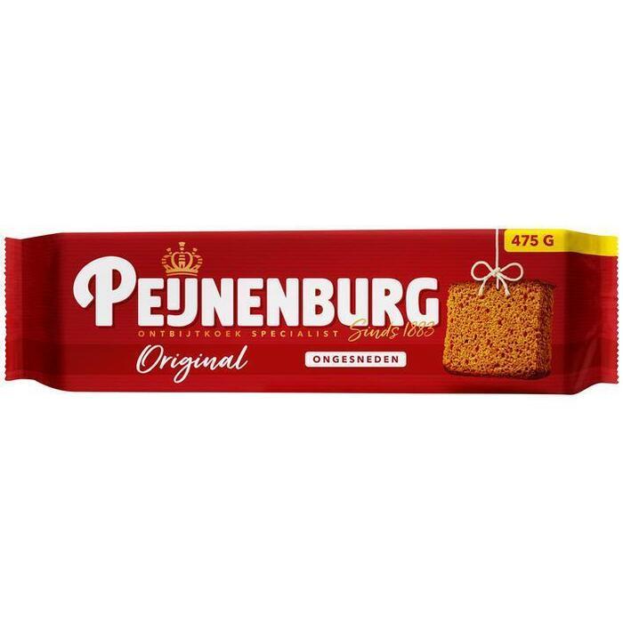 Peijnenburg Ongesneden ontbijtkoek naturel (475g)